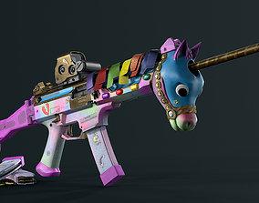 CZ Scorpion EVO 3 Unicorn 3D model