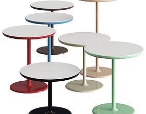 Dizzie Coffee and Side Tables 3D