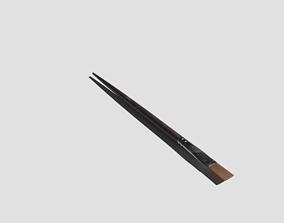 Paintbrush Medium Flat 3D model