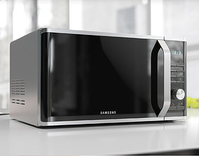 3D model Glass front microwave