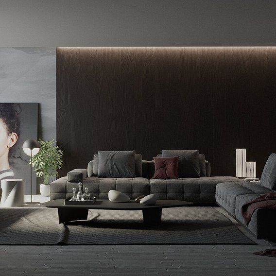 Interior livigroom