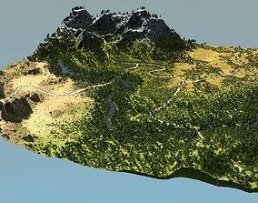 3D Biomes 02 in Blender