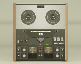 Akai GX-260D stereo tape recorder 3D