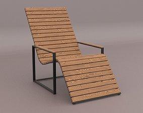 3D asset Garden Sun Chair