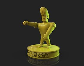 3D print model Johnny Bravo