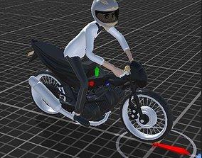 3D model motorcycle1