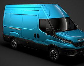 Iveco Daily Blue Power Van L3H3 2020 3D model