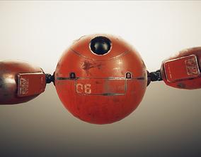 3D model ROBO Mechanic Character