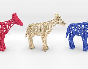Okapi Adult male 3D printable model
