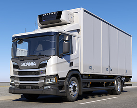 SCANIA P-Day Cab 3D