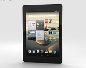Acer Iconia Tab A1-810 White 3D