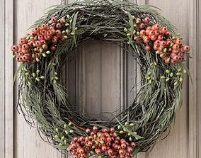 wreath 3D model Christmas Wreath