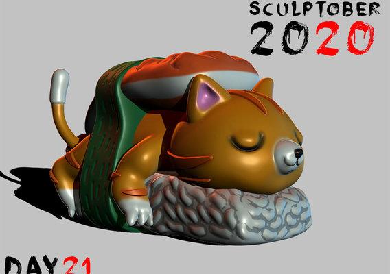 Sculptober Day 21 Fresh