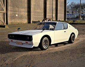 Nissan Skyline 1973 3D asset