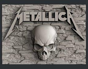 3d STL models for CNC Metallica cnc