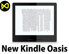 3D model New Amazon Kindle Oasis 2017