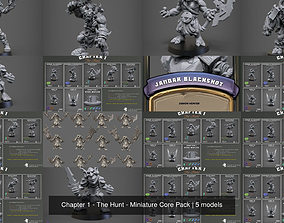 Chapter 1 - The Hunt - Miniature Core Pack 3D model