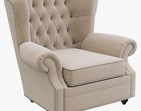 3D Dantone Home Biarritz armchair