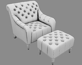 upholstery Armchair UP 3D