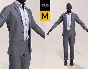 3D model Men s Business Suit Marvelous Desigher Project