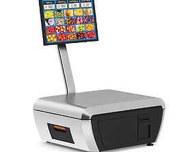 Market Touch Scale 3D model