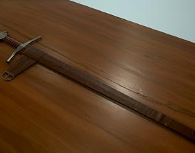 3D asset Accolade Sword of the Knights Templar