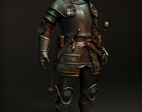 3D model military Knight