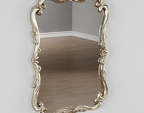Cavell Polyurethane Framed Mirror 3D model