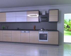 Modern in 3d kitchen from Adeko and render by adeko