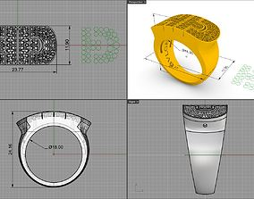 3D print model white Bulgarish ringlet
