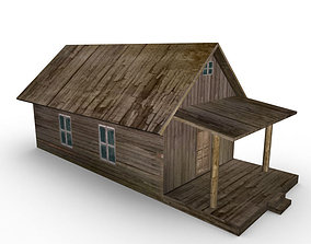 3D model Old Farm House