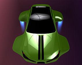 Hover car BF cosmic 3D model