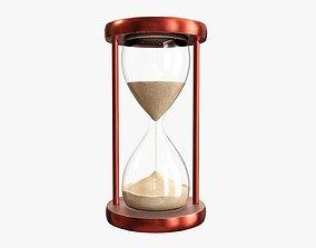 3D Hourglass sandglass egg sand timer clock 01