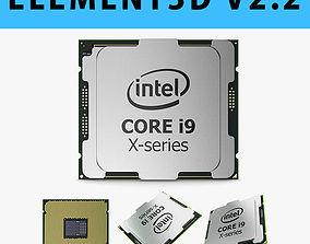 E3D - Intel Core i9 X-series Processor 3D model 3D