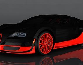 3D model bugatti veyron grand sport