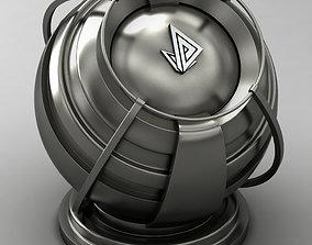 VRAY SHADER---METAL---Indium Antimonide 3D model