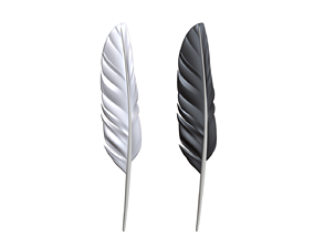 Feather 2 3D print model
