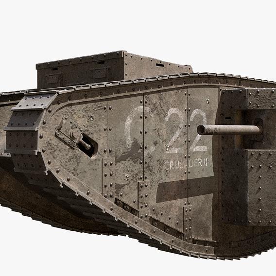 WW1 Mark I Tank