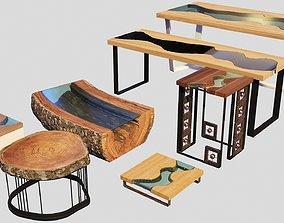 3D Tables Set