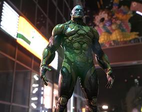 3D asset Sci-fi Character