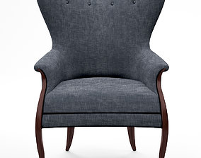 Christopher Guy Volpe armchair 3D model lounge-chair