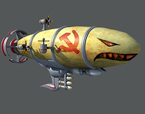 3D model Red Alert Kirov Airship