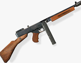 3D model Thompson Submachine Gun