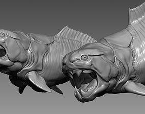 Dunkleosteus - 3D Printable Prehistoric Creature - 3