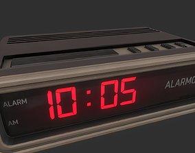 3D asset Digital Alarm Clock