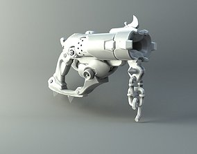 3D print model Roadhog scrap gun - Overwatch game