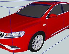 3D print model 2015 GeelyBoru iGC9 Lower Poly