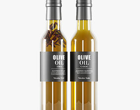 olive oil container 3D model