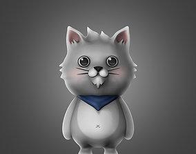 amur Cat 3D Model Print