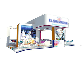 3D model Stand - Exhibition Booth 12x9m
